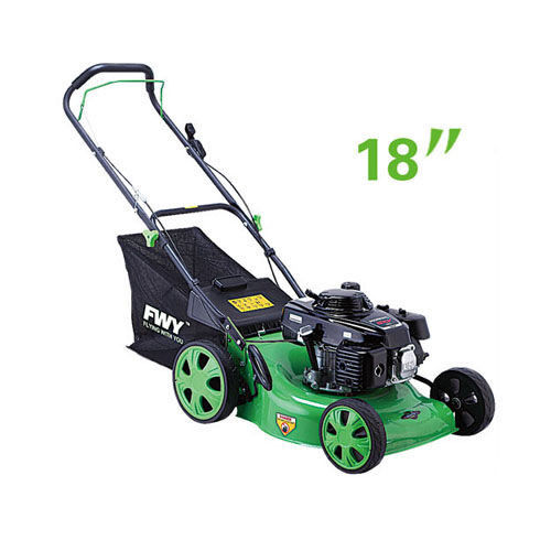 Simple structure gasoline Petrol garden lawn mower 18 Inch Hand push