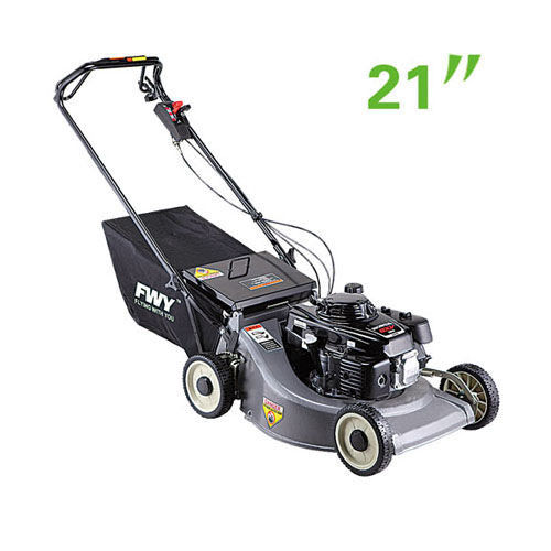 21 Inch Garden Lawn Mower , Self - propelled Garden Tools Petrol Gasoline Lawn Mower