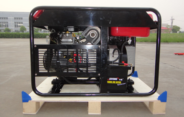 12kW MAX Portable Gasoline Generator Air cooled 4 stroke engine power